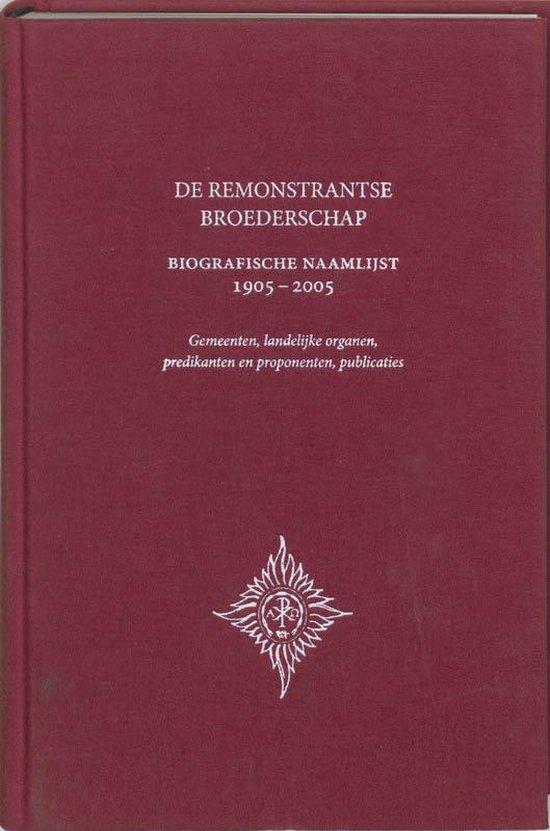 De Remonstrantse Broederschap - P.L. Slis  