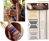 Golden & Metallic Tattoo iBiza Style - Thalassa