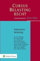 Cursus Belastingrecht - Inkomstenbelasting Studenteneditie 2015-2016
