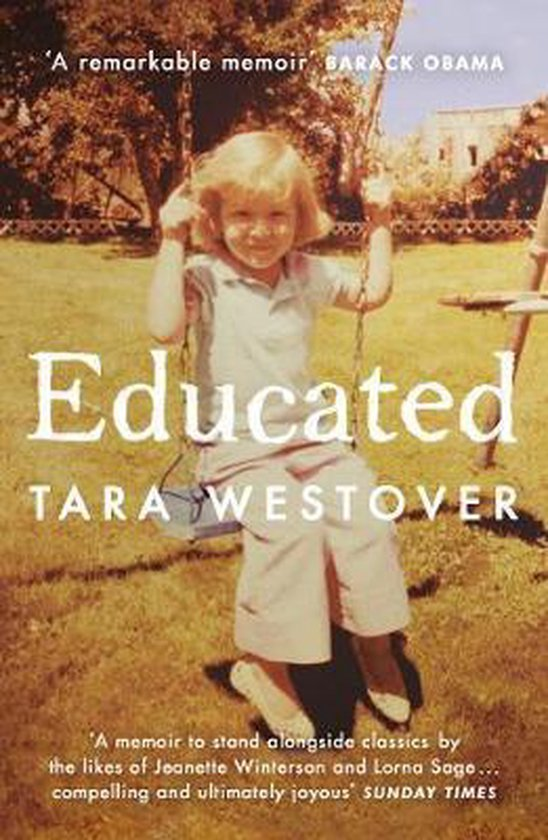 Omslag van Educated : The Sunday Times and New York Times bestselling memoir