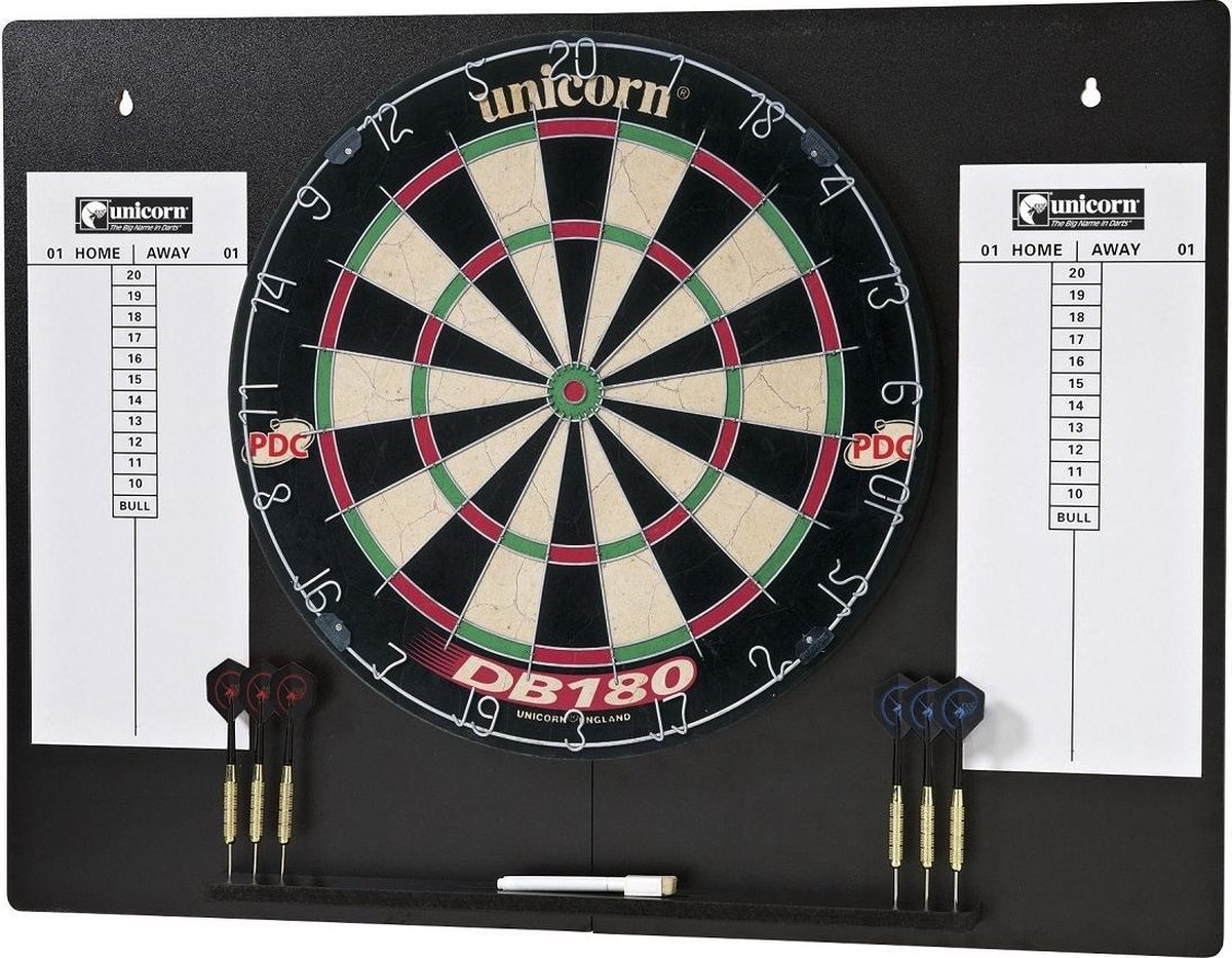 Unicorn DB180 Complete Home Darts Centre - complete set