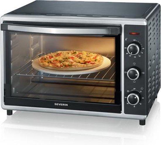 Severin TO 2058 - Mini oven - Vrijstaand - zwart/zilver