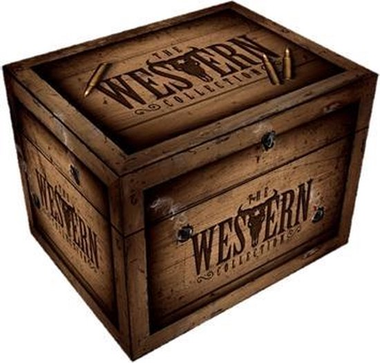 The Western Collection – Joe Kidd, Winchester '73, War Wagon, Two Mules for Sister Sarah, El Dorado, True Grit (1969), True Grit (2011), Rio Lobo, Hondo en Once Upon a Time In The West.