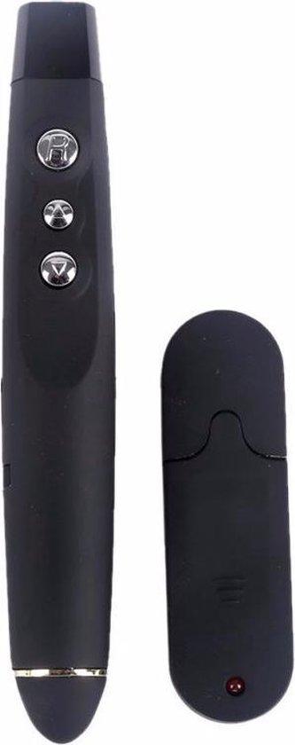 Draadloze USB Presenter Met Laser Pointer - PowerPoint Presentatie Afstandsbediening - AA Commerce