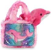 Aurora Knuffel Fancy Pal Dolfijn 20,5 Cm Roze
