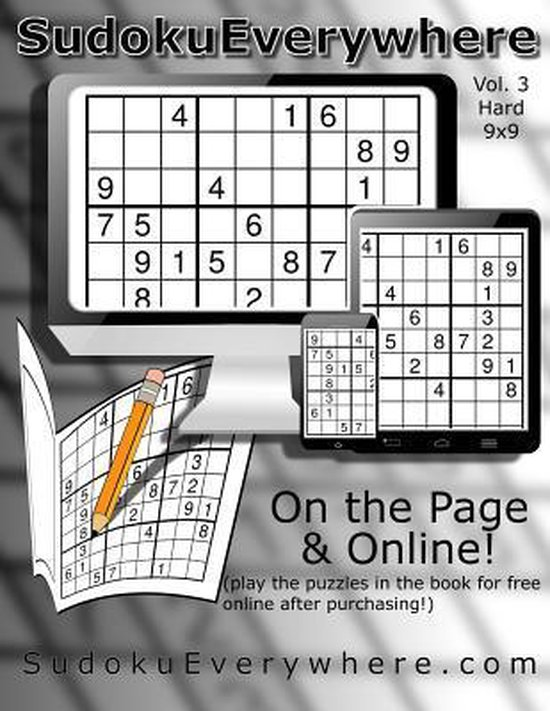 Sudoku Everywhere Vol. 3 Hard