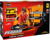 Bburago Ferrari Parkeergarage met 2 auto's