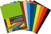 Tekenpapier A4 120 grams 10 kleuren 500 vel