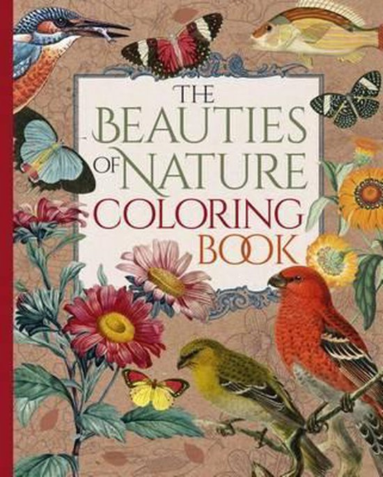 Boek cover The Beauties of Nature Coloring Book van Pierre-Joseph Redouté (Paperback)