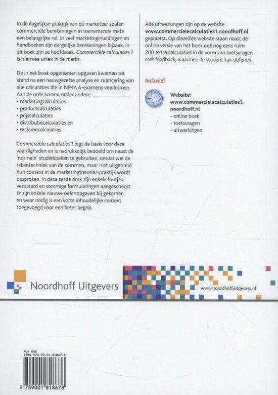 Commerci le calculaties 1 - John Smal pdf epub