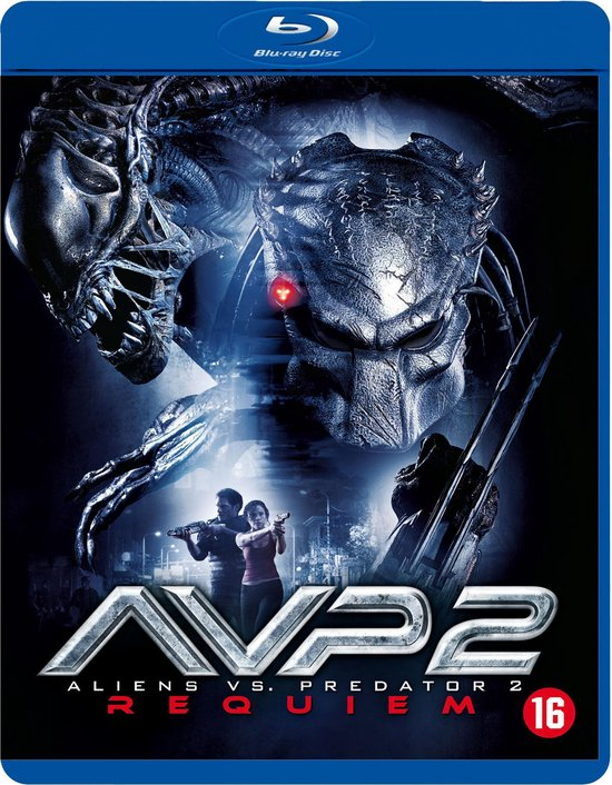 Cover van de film 'Aliens Vs Predator 2'