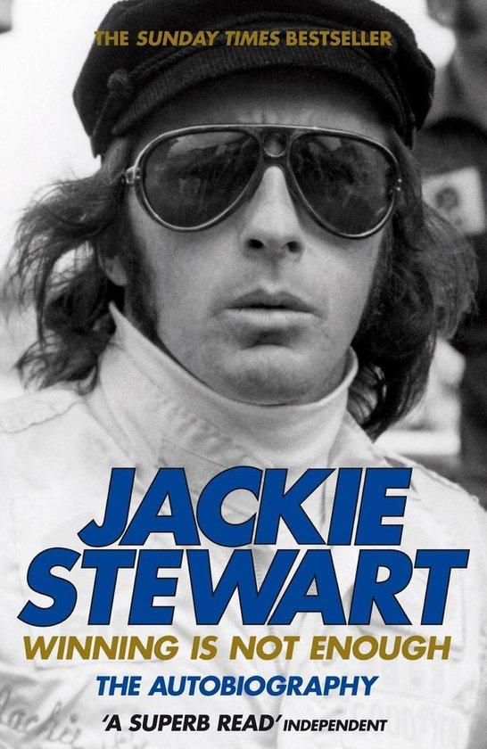 Boek cover Winning Is Not Enough van Sir Jackie Stewart (Onbekend)