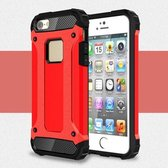 Armor Hybrid Case iPhone 5 / 5S /SE - Rood