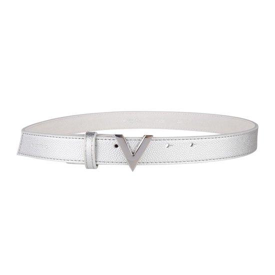 Valentino Divina Kledingriem - Zilver- Maat S (100 cm)