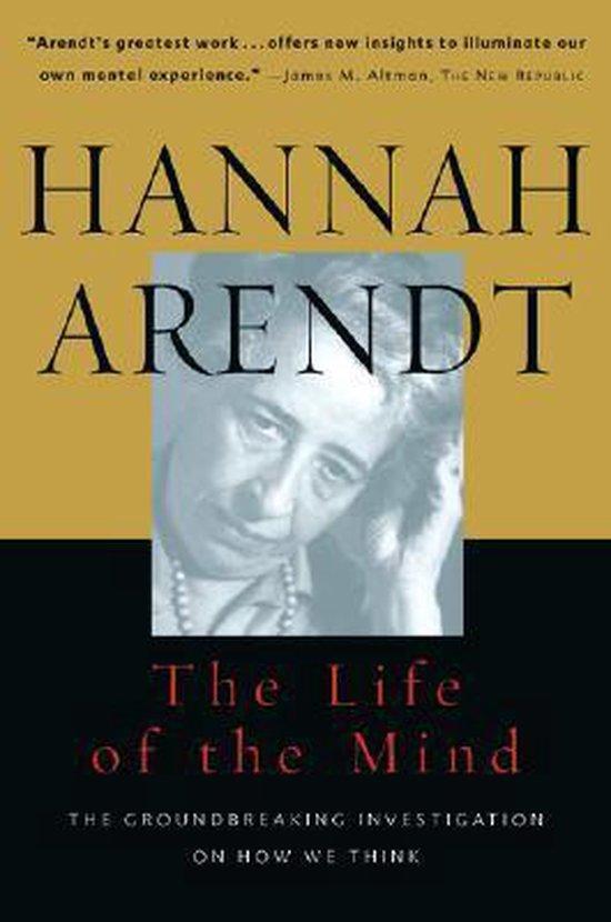 Boek cover The Life of the Mind van Hannah Arendt (Paperback)