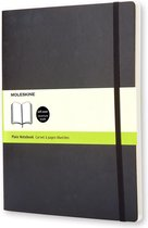 Moleskine Classic Notitieboek Soft Cover - XL - Zwart - Blanco