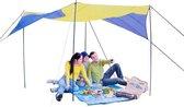 Camp Active Zonnezeil - 4,5x4,5m - zonnescherm tent - zeshoekig