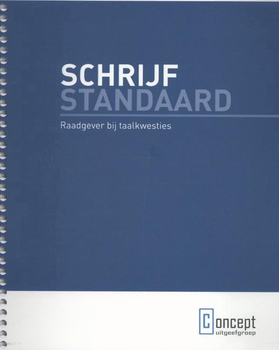 Schrijfstandaard - none |
