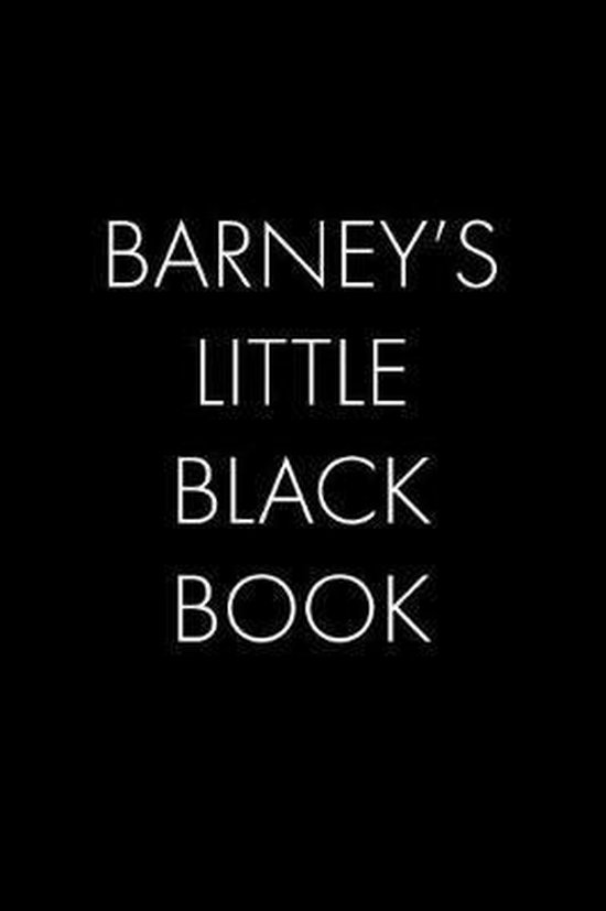 Barney's Little Black Book