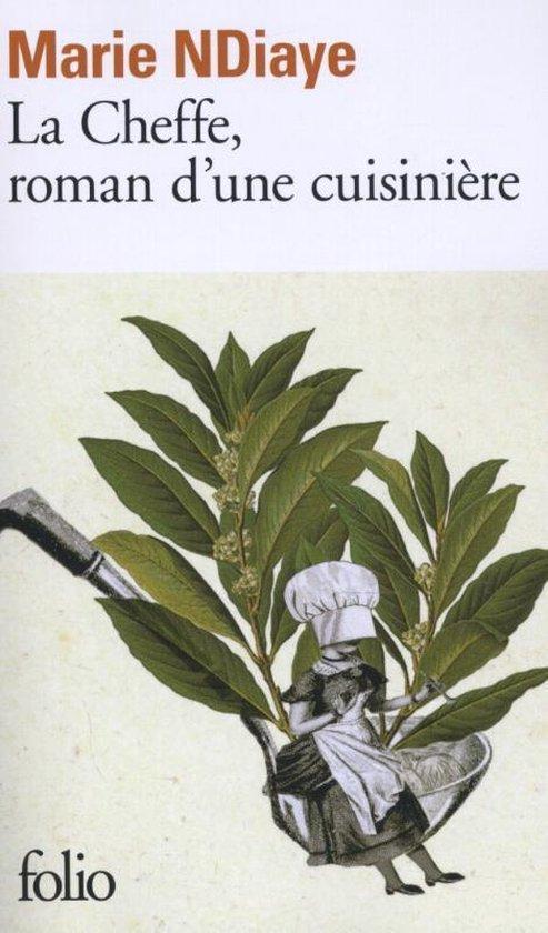 Boek cover La Cheffe, roman dune cuisiniere van Marie Ndiaye (Paperback)
