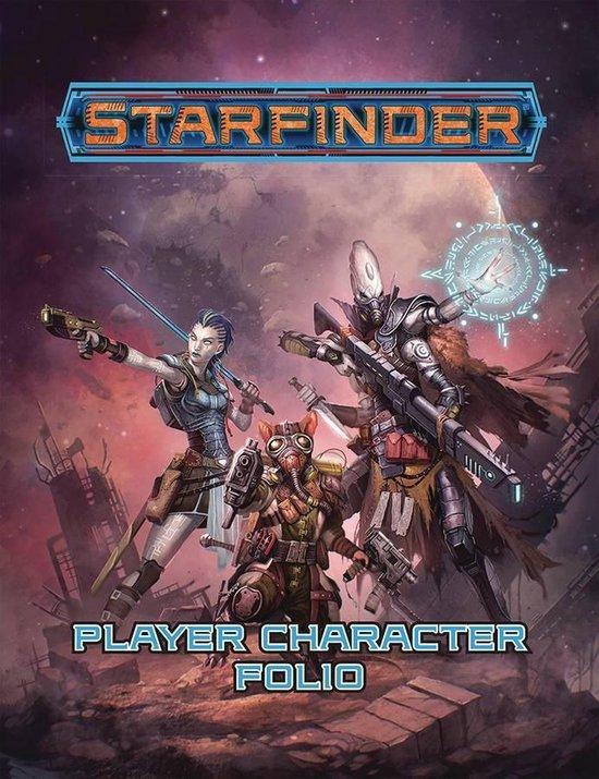 Afbeelding van het spel Starfinder Player Character Folio - EN