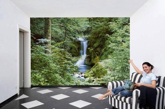 Waterval Lente - Fotobehang 366 x 254 cm - Reinders