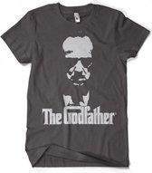 Godfather t-shirt grijs heren Xl
