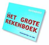 Boek cover Het grote rekenboek oefenboek van Marijke van der Mark (Hardcover)