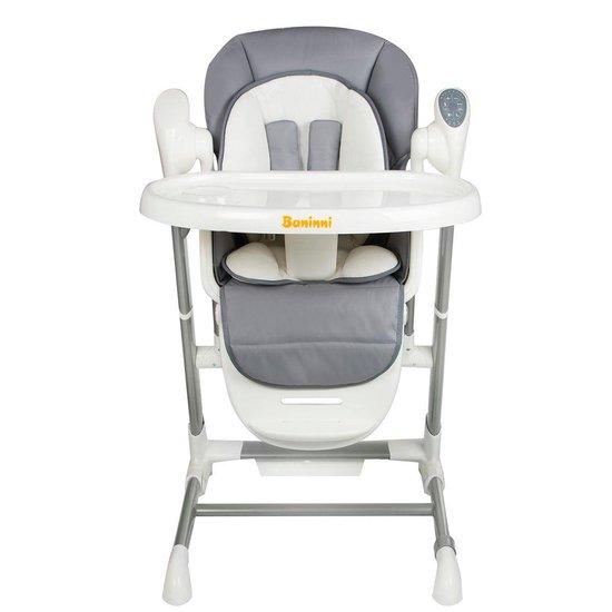 Kinderstoel & Swing Baninni Ugo Grijs