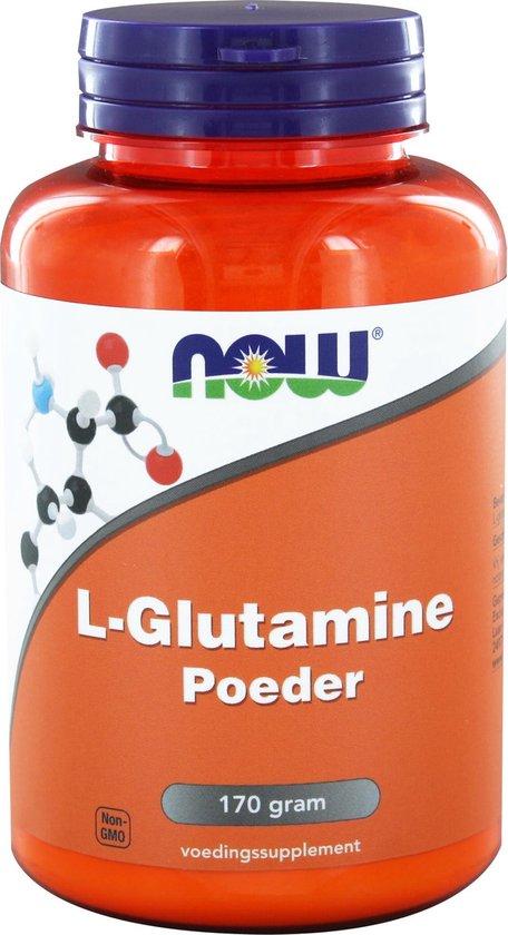 Now L-Glutamine Poeder - 170 gr