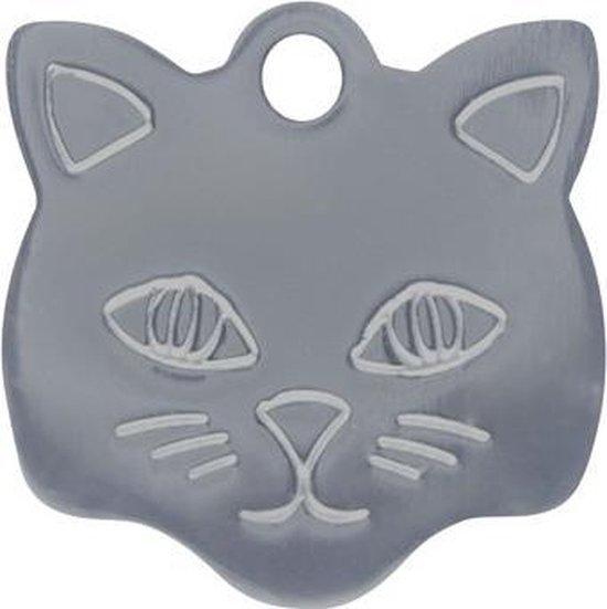 Kitty Kattenpenning Zilver