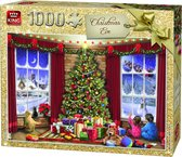 King Puzzel 1000 Stukjes (68 x 49 cm) - Kerstavond - Legpuzzel Kerst / Winter