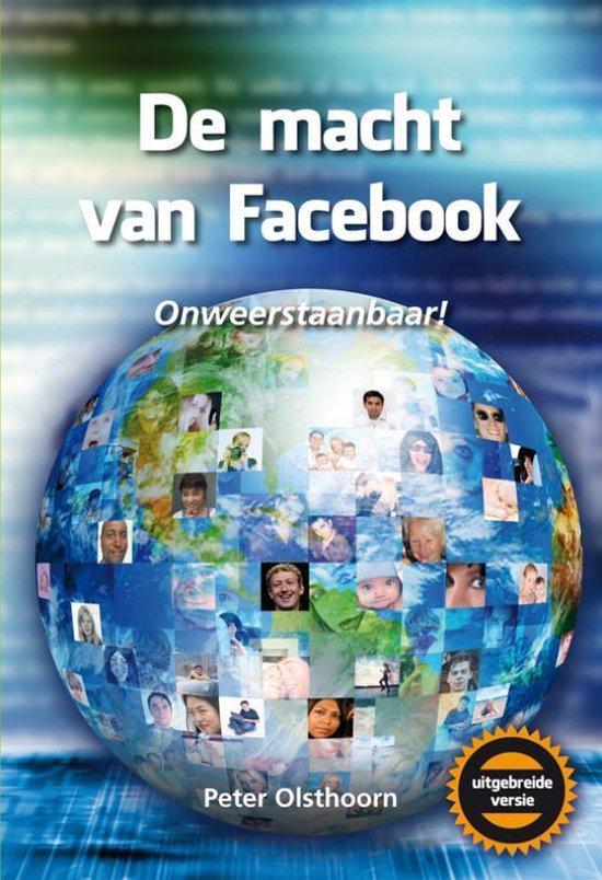 Cover van het boek 'De macht van Facebook' van Peter Olsthoorn