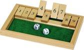 Dobbelspel: SHUT the BOX, 25x17.5x2cm, hout, 6+