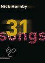 Boek cover 31 songs van Nick Hornby
