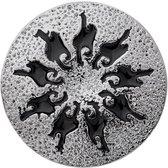 Quiges - Drukknoop 18mm Ornament - EBCM309
