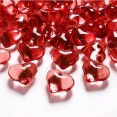 Tafel hartjes rood 21mm
