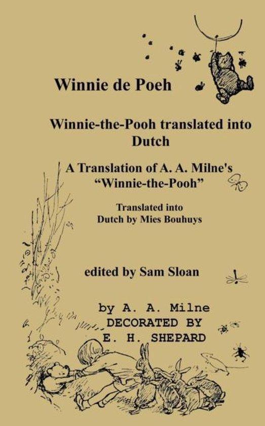 Boek cover Winnie de poeh winnie-the-pooh in dutch van A A Milne (Paperback)