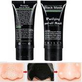 Black Head Peel Off Mask Tube   Mee Eters & Acne verwijderen    Shills Natuurlijke Producten    2 x 50 ml