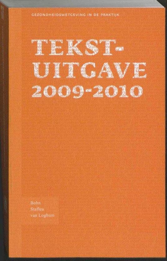 Tekstuitgave 2009 - 2010 - Bsl |