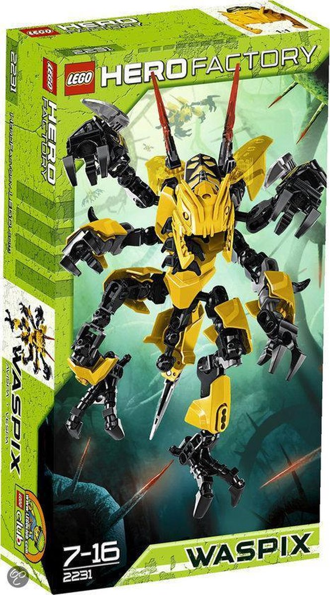 LEGO Hero Factory Waspix - 2231