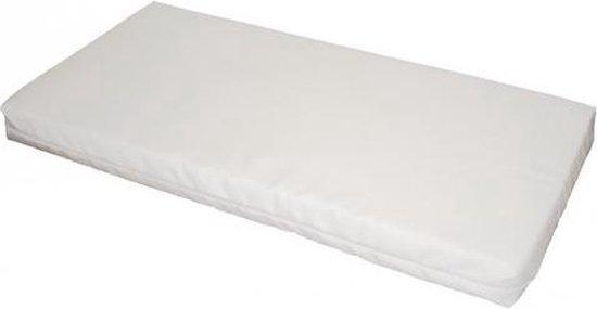 Bebies First Foam Matras - 80x40x4 cm - Wit