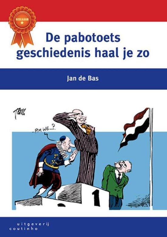 Boek cover De pabotoets geschiedenis haal je zo van Jan de Bas (Paperback)