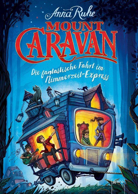 Boek cover Mount Caravan van Anna Ruhe (Onbekend)