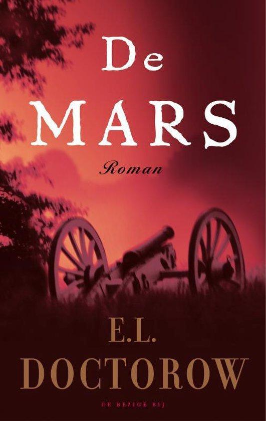 Cover van het boek 'de mars' van E.L. Doctorow