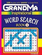GRANDMA Inspirational WORD SEARCH Book