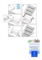 Metaltex - Up & Down Rekje - Polytherm coating