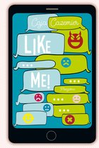Boek cover Like me! van Caja Cazemier (Paperback)