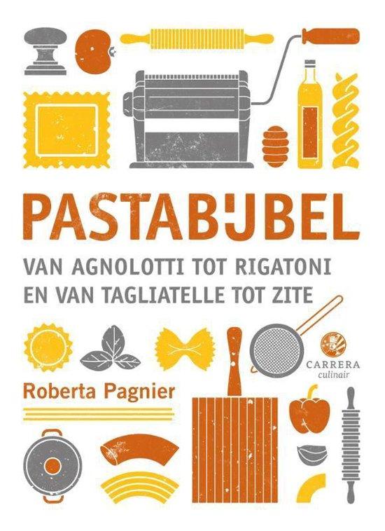 Boek cover Pastabijbel van Roberta Pagnier (Hardcover)