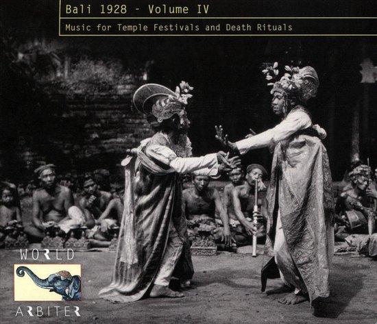 Bali 1928 Vol. 4: Music For Temple